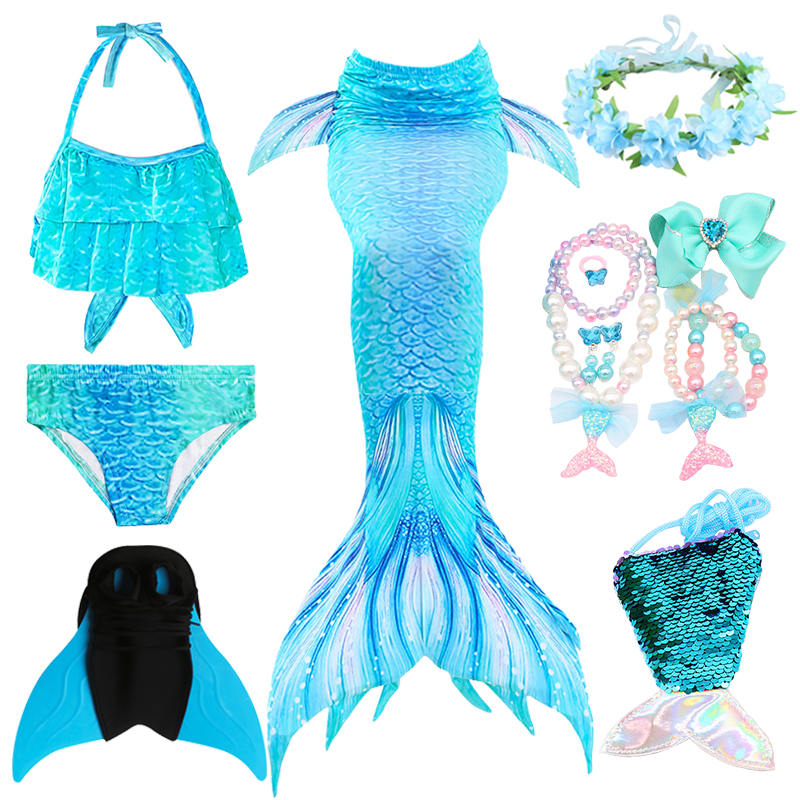 Havfruekostume Børne kostumer